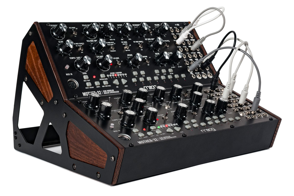 Moog mother 32 patching holes