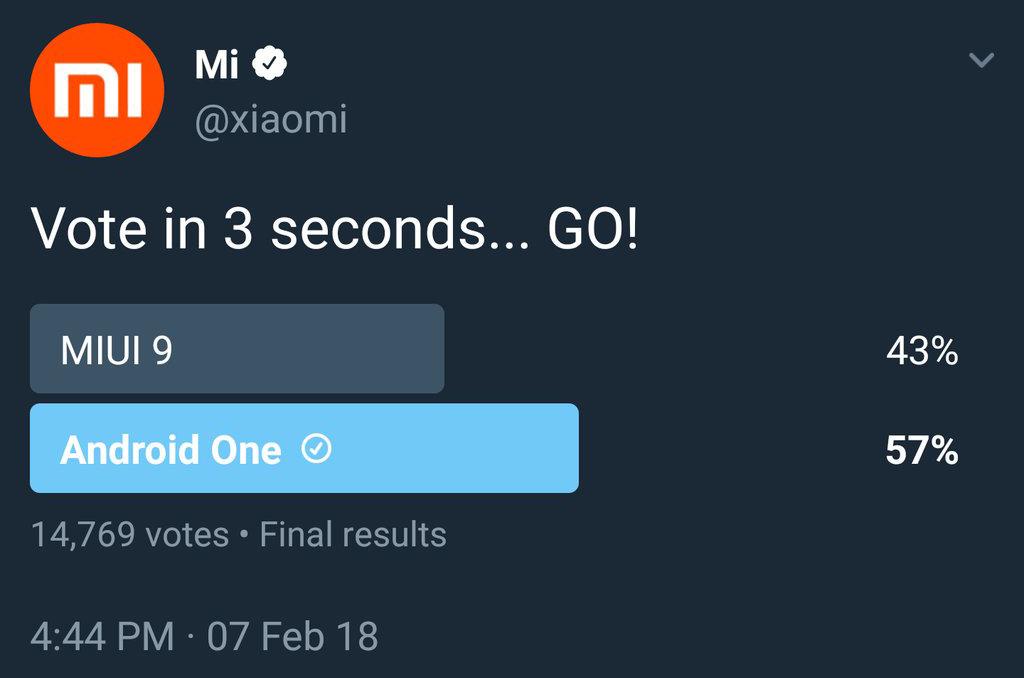 Xiaomi borra una encuesta tras no recibir las respuestas esperadas