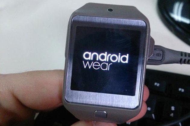 Someone got Android Wear running on Samsung's Gear 2 watch
