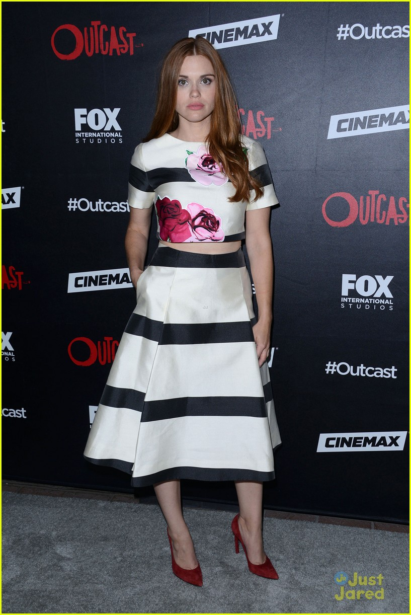**USA,  Australia, New Zealand ONLY** San Diego, CA - Holland Roden attends the 'Outcast' Comic-Con Party held at the Andaz Hotel in San Diego, CA.AKM-GSI    July  9, 2015**USA, Australia, New Zealand ONLY**To License These Photos, Please Contact :Steve Ginsburg(310) 505-8447(323) 423-9397steve@akmgsi.comsales@akmgsi.comorMaria Buda(917) 242-1505mbuda@akmgsi.comginsburgspalyinc@gmail.com