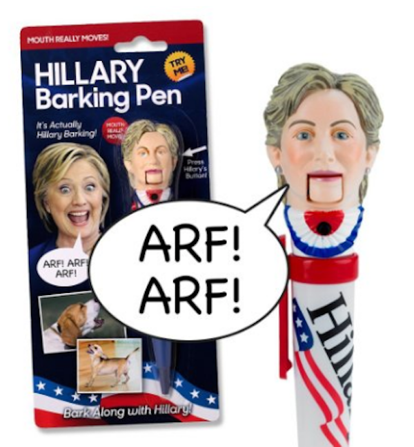 The Most Ridiculous/Offensive Presidential Products For Purchase