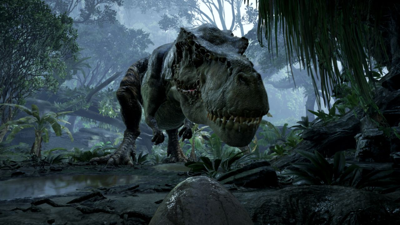 Get some face time with a snarling dinosaur in virtual reality