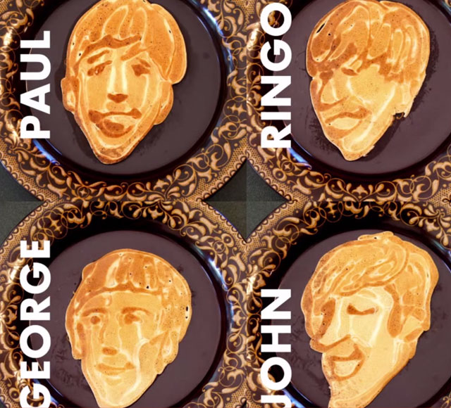 Coolest breakfast ever? Dad makes Beatle themed pancakes