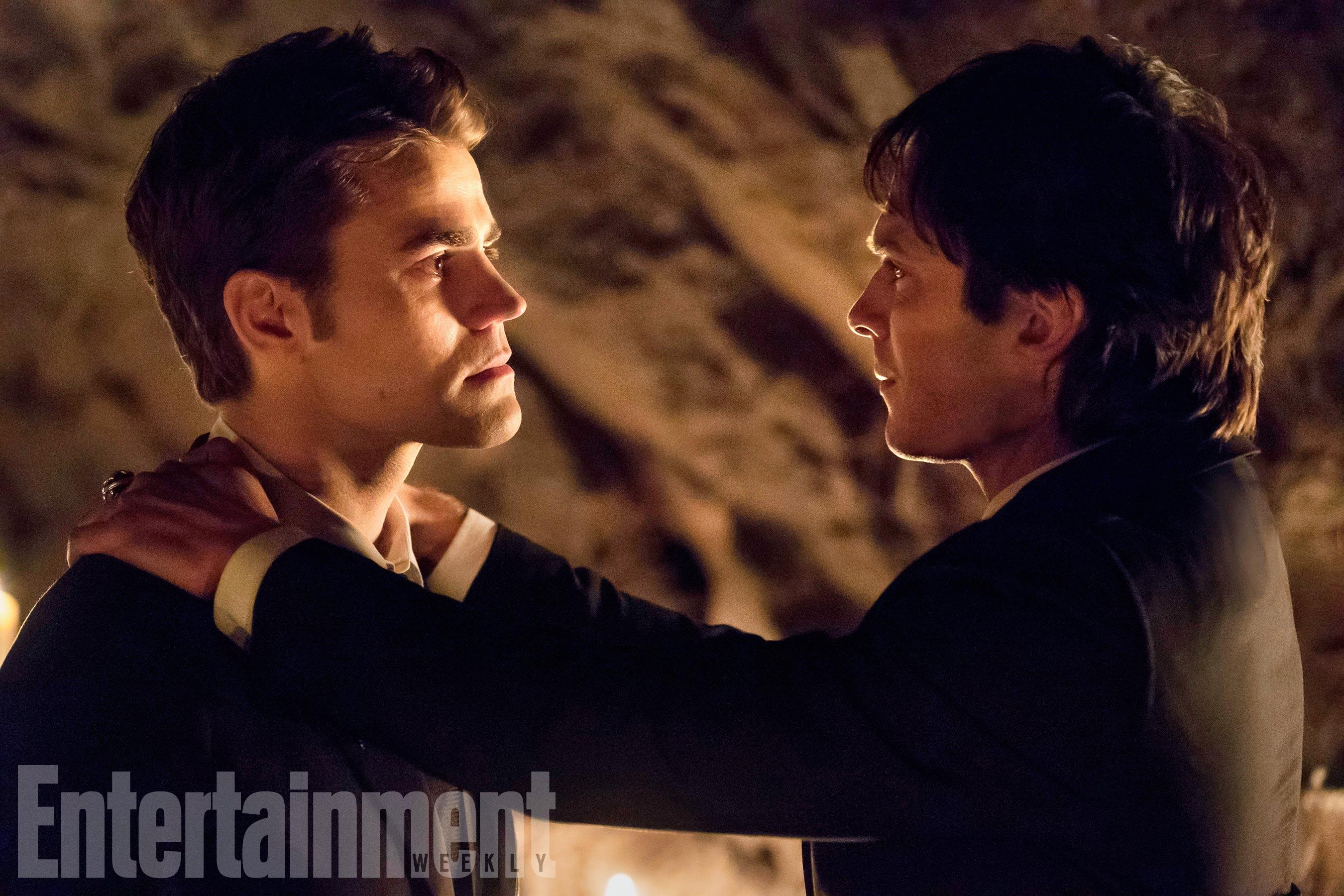 The Vampire Diaries Episode: I Was Feeling EpicSeason TK, Episode TKAir Date: Pictured (L-R): Paul Wesley, Ian Somerhalder