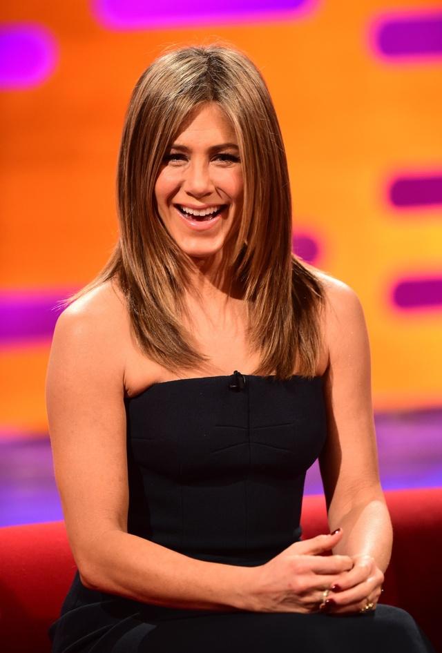 Jennifer Aniston teases Friends reunion on Graham Norton
