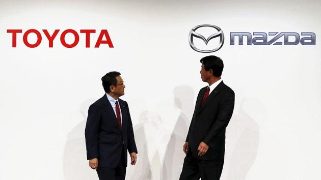 トヨタとマツダ、電気自動車の技術を共同開発する新会社を設立