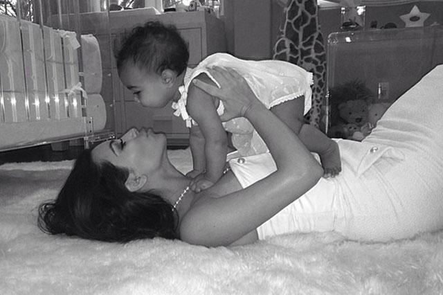 KIm Kardashian mothers day