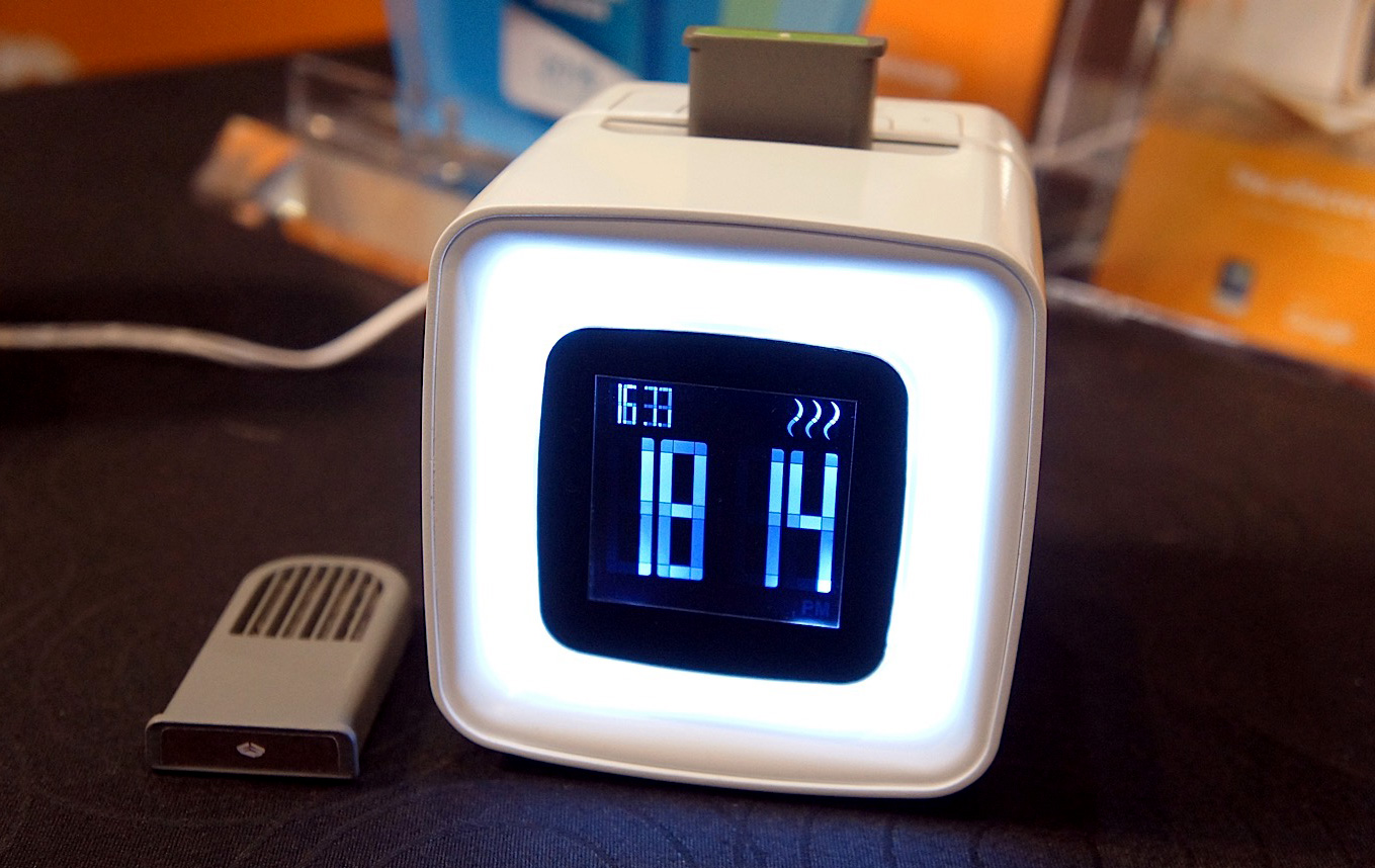 Sensorwake clock wants to wake you up with scents, not sound