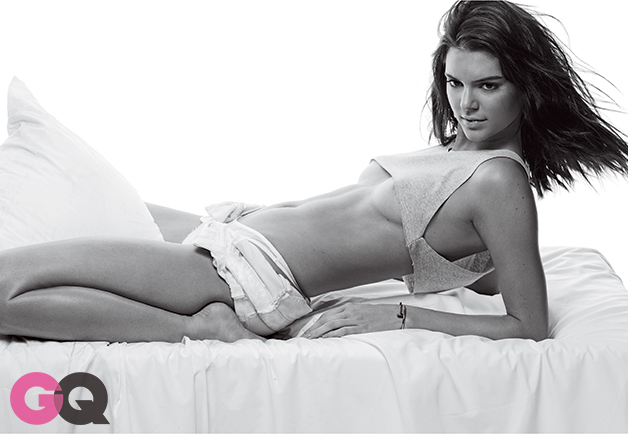 Kendall Jenner topless GQ