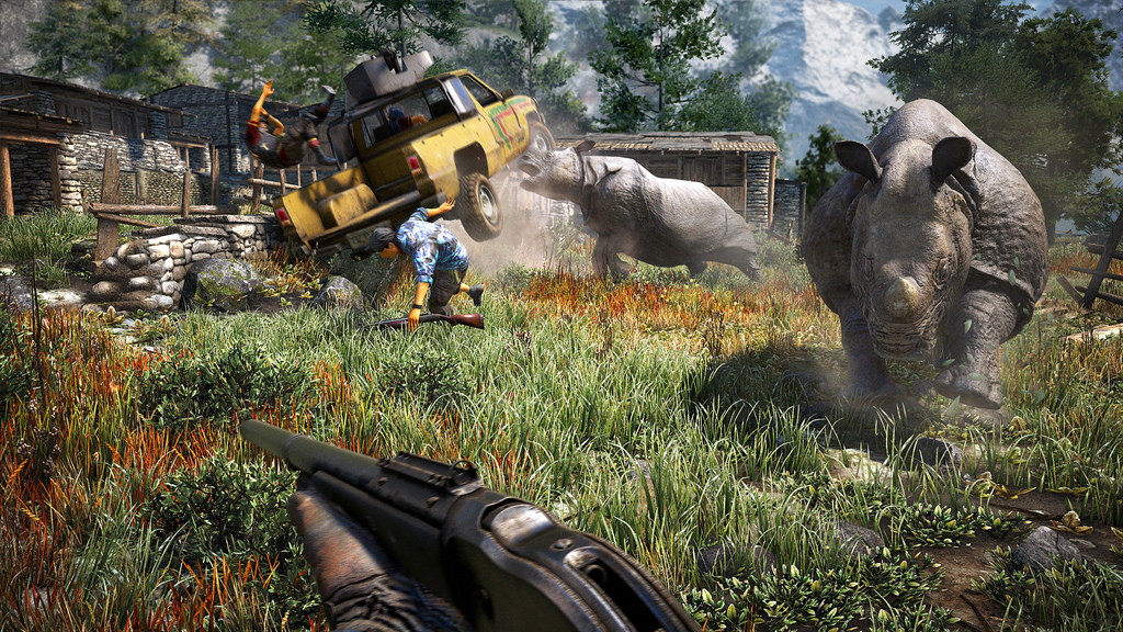 Here's a sampling of the animals found in Far Cry 4