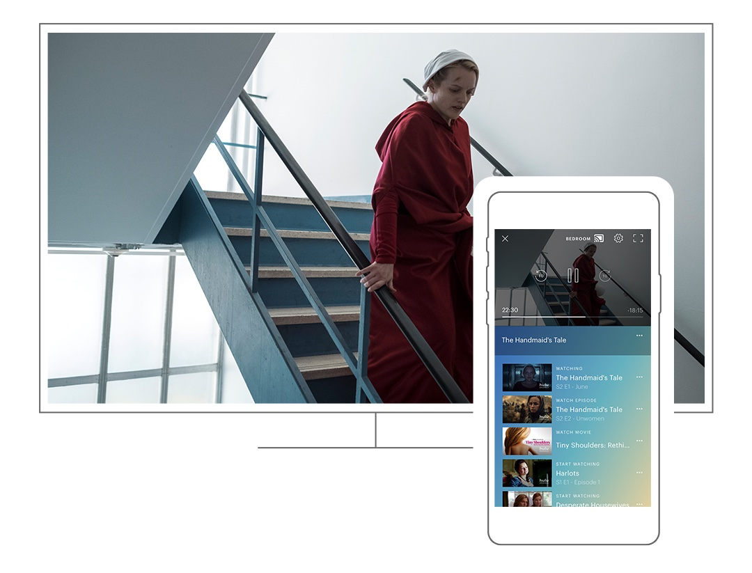 photo image Hulu makes it easier to watch TV on your phone