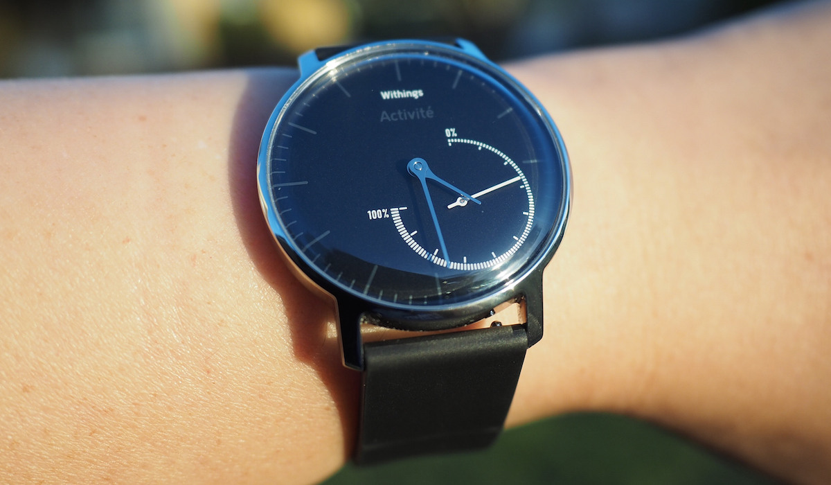 Withings' third analog fitness tracker is the $170 Activite Steel