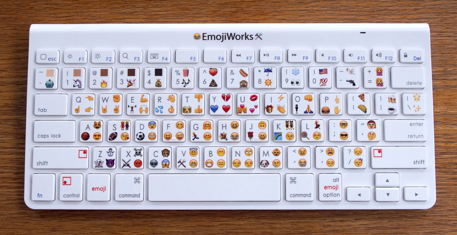 Here's a physical emoji keyboard that costs $100