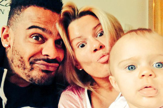 Kerry Katona shares happy family Tweets starring baby Dylan-Jorge