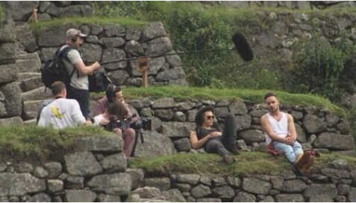 Harry Styles and Liam Payne Machu Picchu