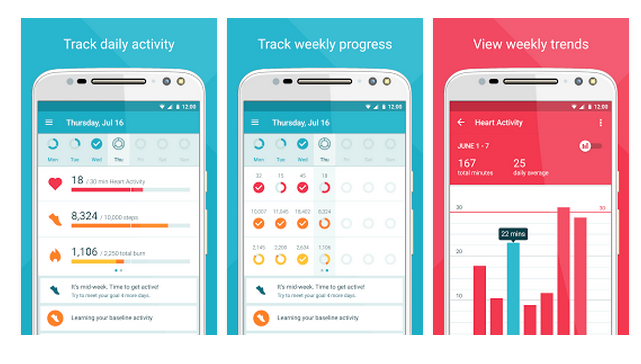 The Moto Body fitness-tracking app is now available on your phone