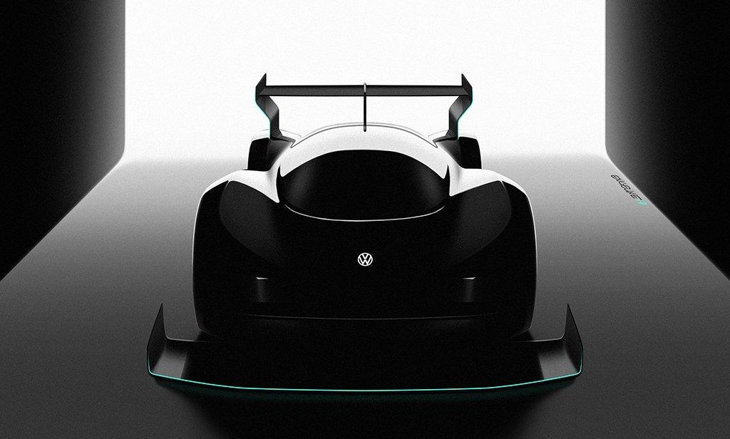 VW presumirá de este supercoche eléctrico en Pikes Peak (pero solo conocemos su silueta)