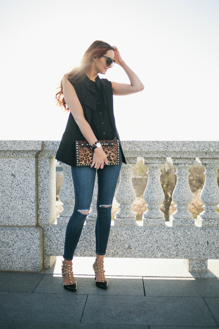 Street style tip of the day: Studs
