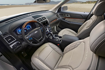 2016 Ford Explorer Platinum interior