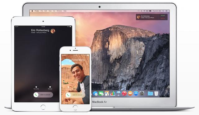OS X Yosemite and iOS 8