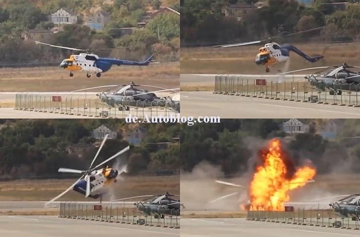 crash, unfall, hubschrauber, MU-8, video, film, Horror-crash, unglück, Flugunglück, absturz, helikopter