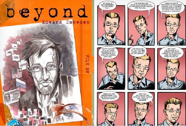 Beyond: Edward Snowden jetzt auch als Comic-Held