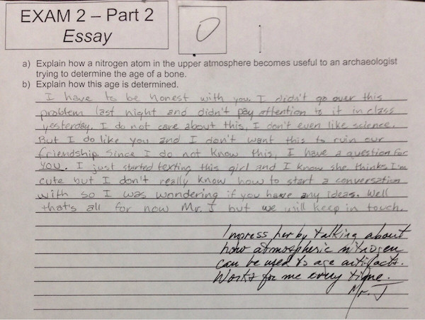 This Is Quite Possible The Best Answer To A Science Question Ever