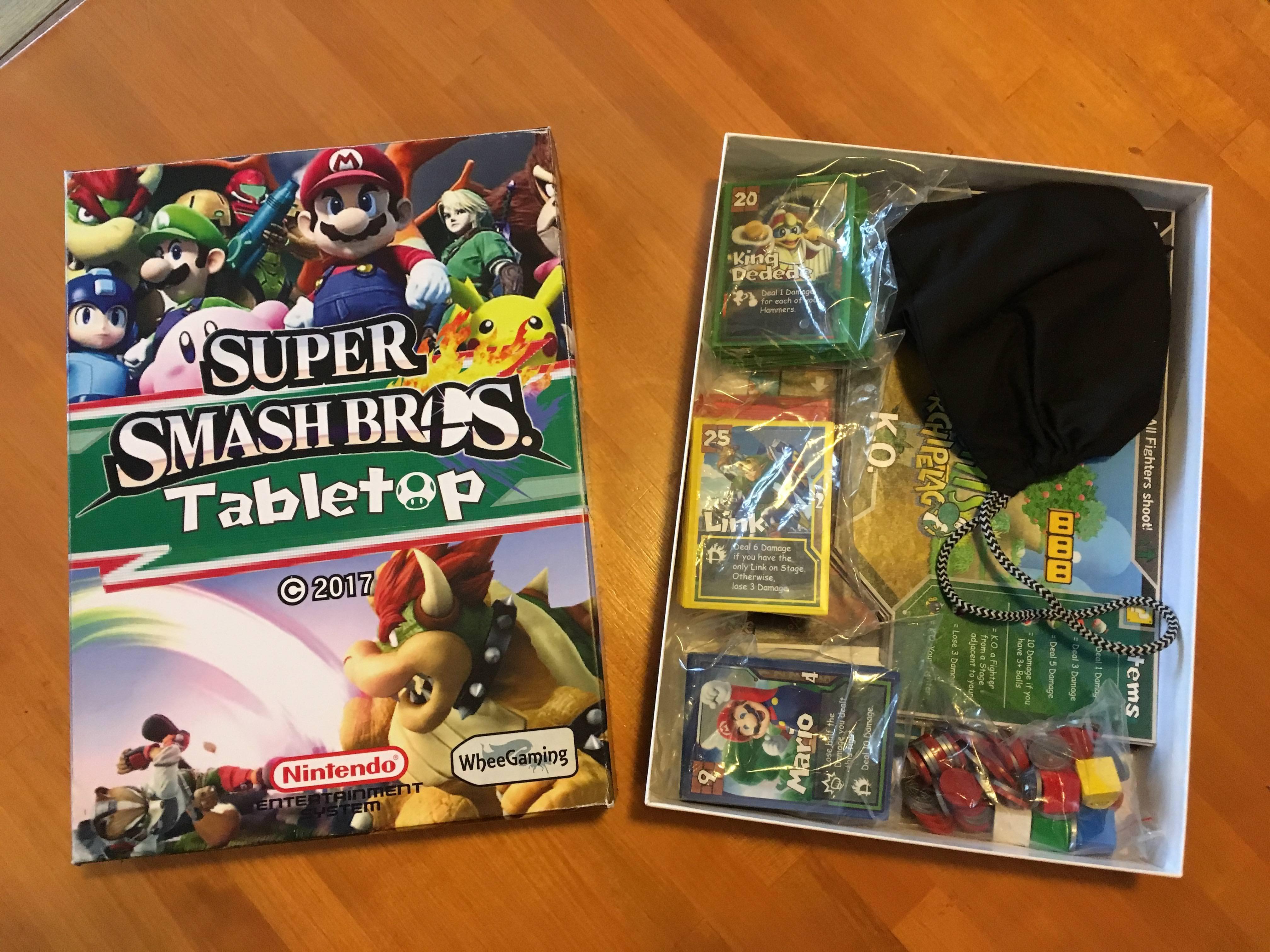 Voll analog: Super Smash Bros. als Brettspiel