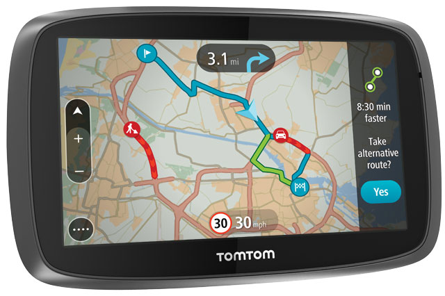WIN a TomTom GO 5000 and children's book package worth £259!