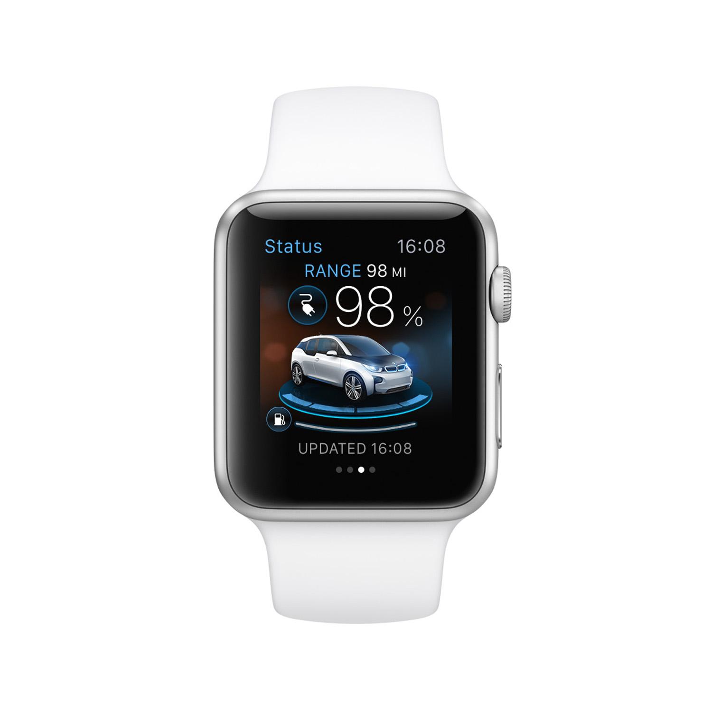 Apple watch, apple uhr, iWatch, BMW i3, BMW i8, Apple, BMW i remote, BMW App, Apple Watch App