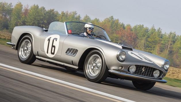 1959年製フェラーリ「250 GT LWB カリフォルニア」が予想を上回る約20億4千万円で落札