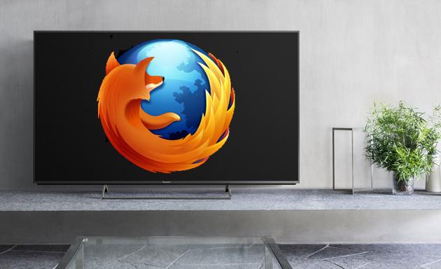 Panasonic CX850 with a Firefox logo