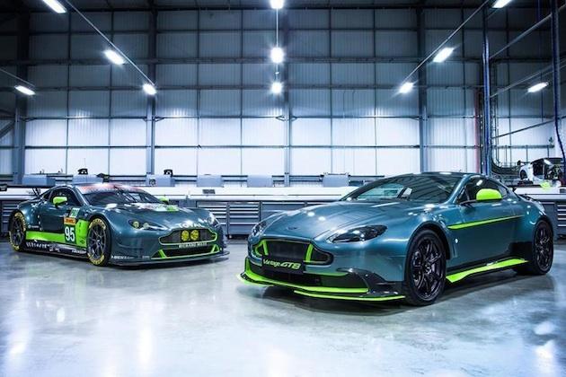 アストンマーティン、レース活動を反映させた公道仕様の限定モデル「ヴァンテージ GT8」を発表