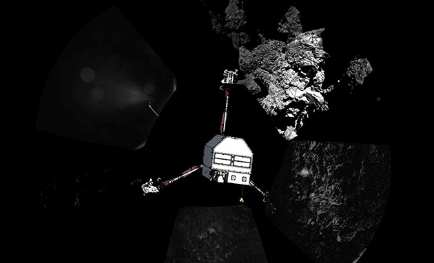 Comet lander offers fresh insights about planet formation