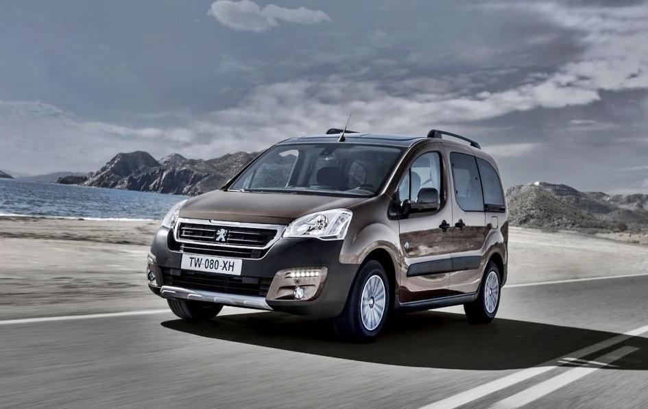 Premiere: Der neue Peugeot Partner 2016