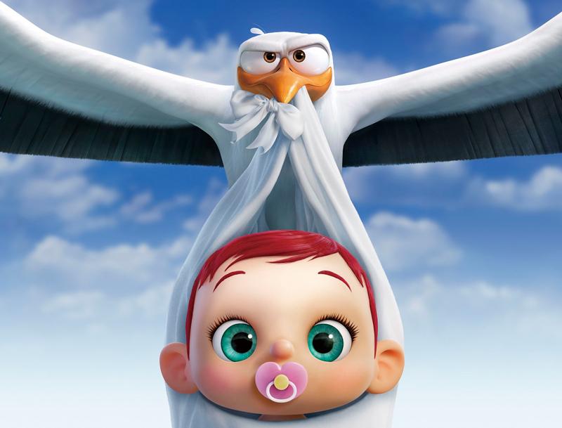 映画『コウノトリ大作戦!』は忙しく働く人にこそ必見の映画!? ニコラス監督「キャリア志向のコウノトリが赤ちゃんと家族になっていく姿を描いているんだ」