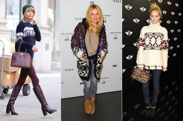 Christmas jumpers, celebrities