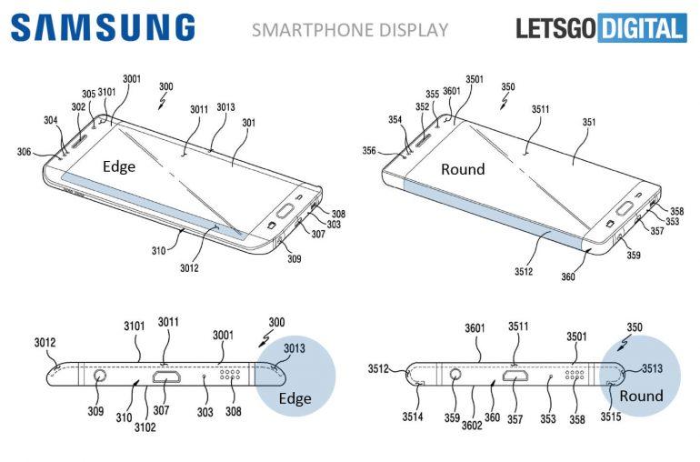 Samsung plant Edge-Displays ganz um die Ecke zu biegen