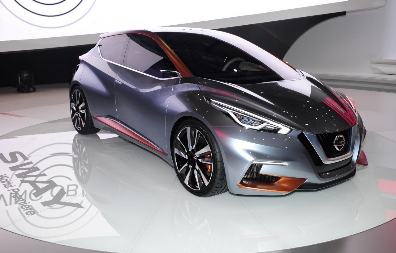 ... Nissan Sway Concept ist ein Vorgucker auf den neuen Nissan Micra 2017