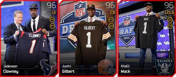 2014 NFL Draft Picks Madden 25