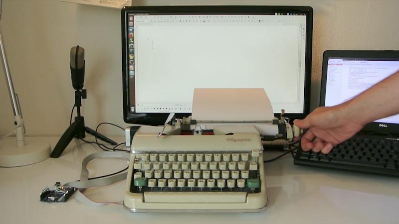 Retro-Traum: Arduino Typewriter