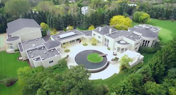 18億円かよ!マイケル・ジョーダンマークの体育館つき豪邸が売り出される