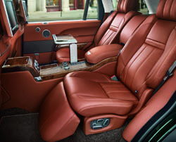 Range Rover Holland & Holland Edition interior