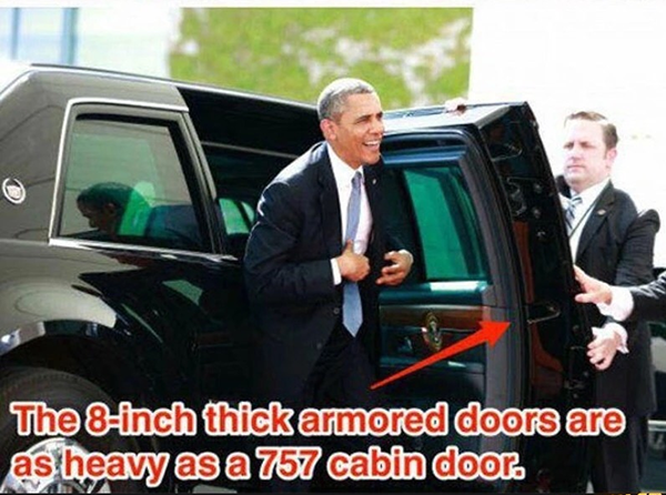 The President's Car Is The Most Secured Car You'll See