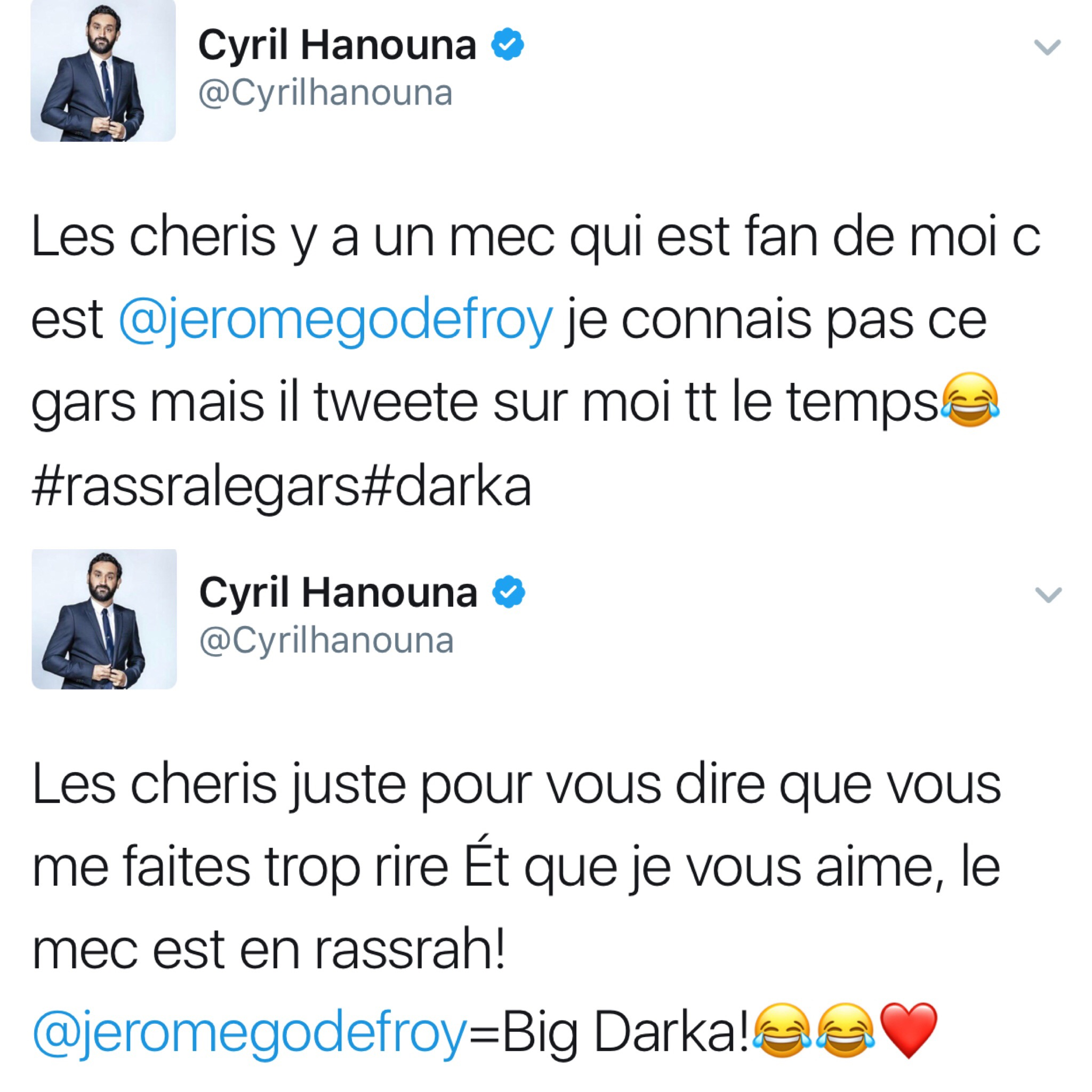 Cyril Hanouna appelle à harceler un journaliste sur Twitter — Polémique