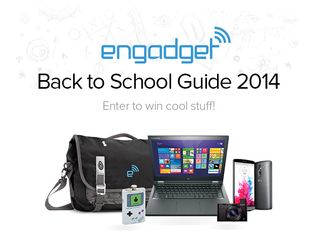 Don't forget to enter our Back to School 2014 sweepstakes!