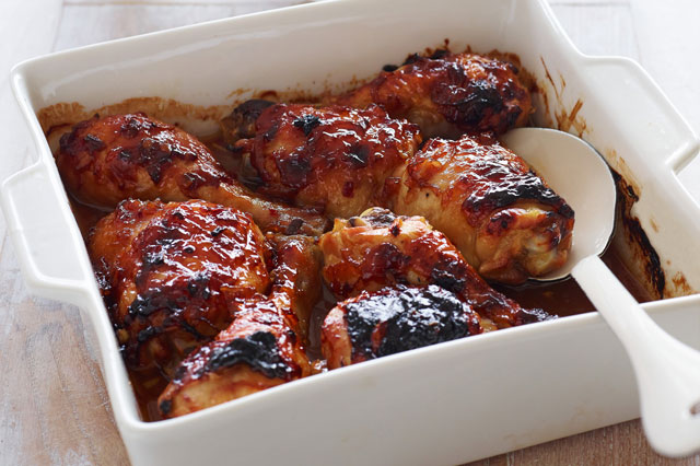 Easy recipe for BBQ chicken