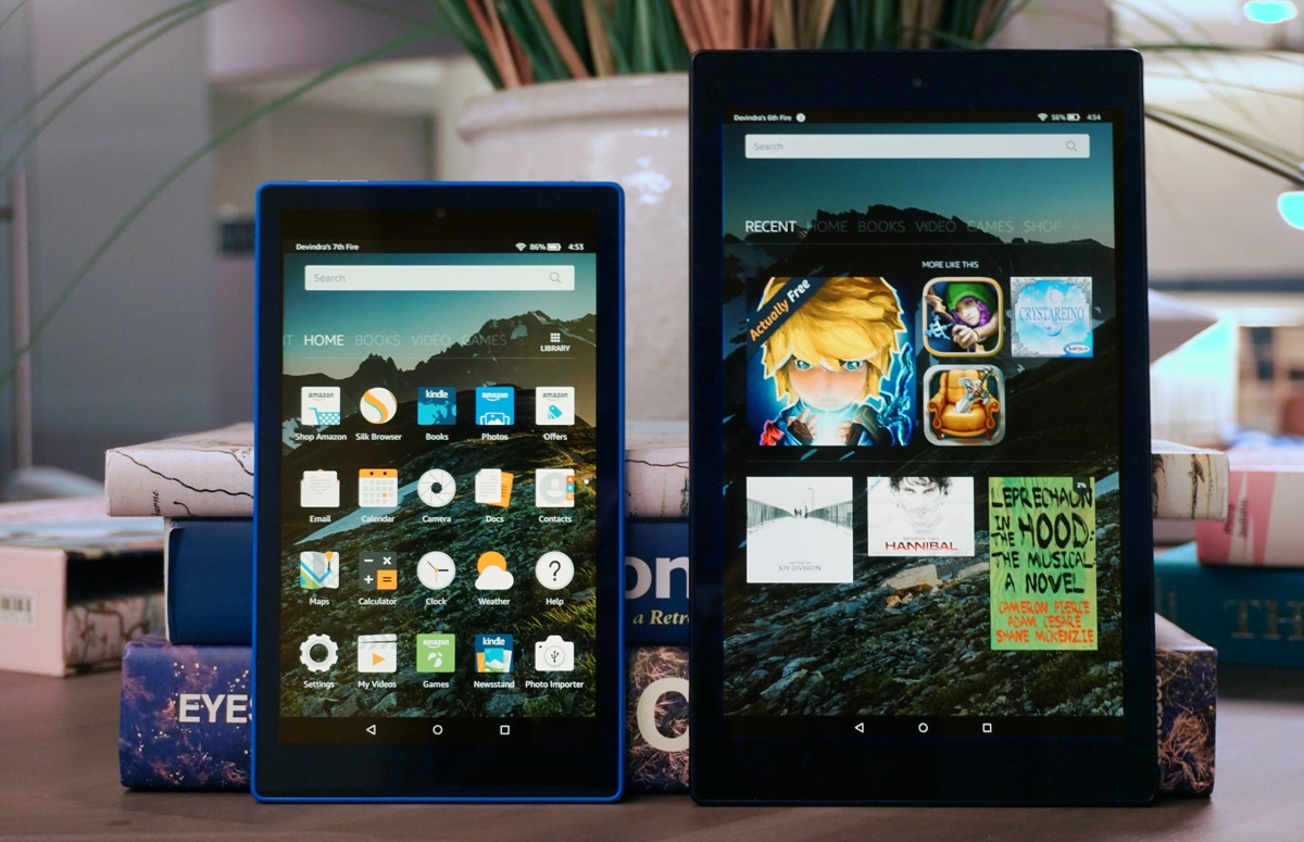 Hands-on with Amazon's new Fire HD tablets: Cheap, yet refined