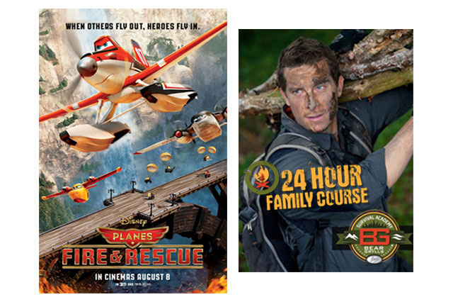 WIN a Bear Grylls survival course to celebrate the release of Disney's Planes 2: Fire & Rescue!