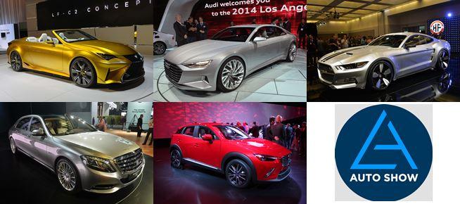 Top 5 der L.A. Auto show 2014